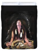 Medicine Woman Duvet Cover