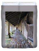 Medieval Church Entrance Duvet Cover