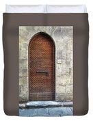 Medieval Florence Door Duvet Cover