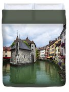 Medieval Jail In Annecy Duvet Cover