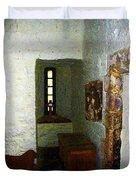 Medieval Monastic Cell Duvet Cover