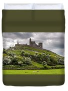 Medieval Rock Of Cashel Ireland Duvet Cover