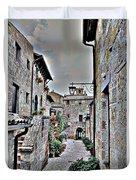 Medieval Street Duvet Cover