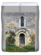 Medieval Window And Door Duvet Cover