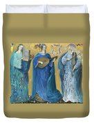 Meditations On The Holy Trinity  After The Music Of Olivier Messiaen, Duvet Cover