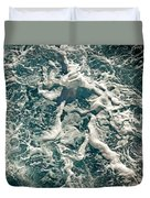 Mediterranean Sea Art 55 Duvet Cover