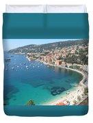 Mediterranean Sea Duvet Cover