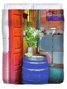 Mediterranean Tapas Bar, Palma De Mallorca Duvet Cover