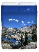 Medley Lake - Sierra Duvet Cover