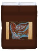 Medusa - Tile Duvet Cover