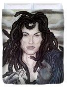 Medusa's Lament Duvet Cover
