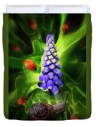 Meet Me At The Hyacinth Duvet Cover