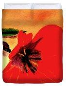 Meet Me In The Tulips Duvet Cover