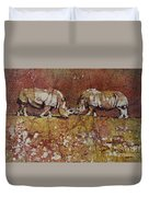 Meeting Of The Minds Duvet Cover