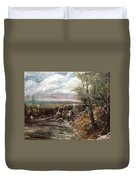 Meeting Of The Waters Duvet Cover