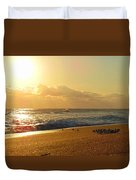 Meeting With The Sun Duvet Cover
