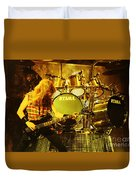 Megadeath 93-david-0364 Duvet Cover
