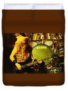 Megadeath 93-david-0365 Duvet Cover