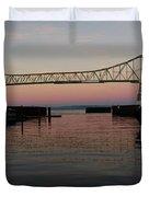 Megler Sunset Duvet Cover