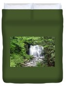 Meigs Falls Duvet Cover