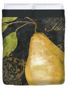 Melange French Yellow Pear Duvet Cover