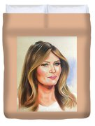 Melania Trump Duvet Cover