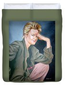 Melanie Griffith Duvet Cover