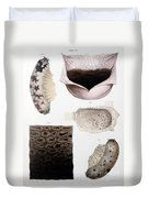 Melanoma, Blood And Stomach Duvet Cover
