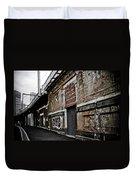 Melbourne Alley Duvet Cover