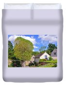Melbourne Hall Mill - Derbyshire Duvet Cover