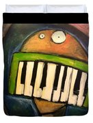 Melodica Mouth Duvet Cover