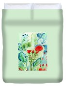 Melody Of Color Duvet Cover
