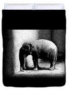 Melancholy Elephant Duvet Cover