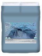 Melting Glacier Duvet Cover