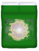 Melting Moon Duvet Cover