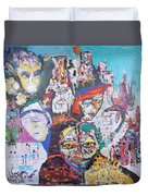 Melting Pot- Hyderabad Duvet Cover