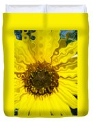 Melting Sunflower Duvet Cover