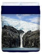 Meltwater From The Northland Glacier Duvet Cover by Ray Bulson