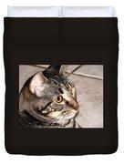 Melvin The Wondercat Duvet Cover