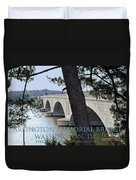 Memorial Bridge Duvet Cover