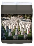 Memorial Day Duvet Cover by Barry C Donovan