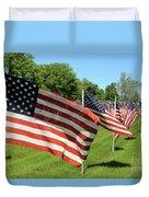 Memorial Day Tribute Duvet Cover