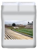Memorial Stadium Duvet Cover