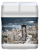Memorials Washed Away Duvet Cover