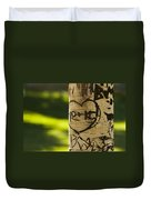 Memories In The Aspen Tree Duvet Cover