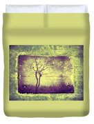 Memories Like Trees Duvet Cover