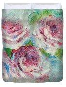 Memories Of Roses Duvet Cover