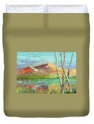 Memories Of Somewhere Out West Duvet Cover