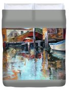 Memories Of Venice Duvet Cover