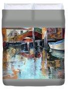 Memories Of Venice Duvet Cover